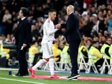 """Zinédine Zidane rassurant sur l'état d'Eden Hazard: """"Il se sent mieux"""""""