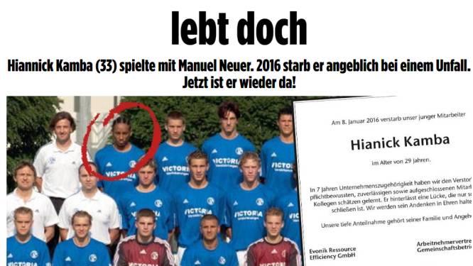 Ex-speler van Schalke 04 bleek vier jaar na 'zijn dood' springlevend, vandaag start proces rond bizar verhaal