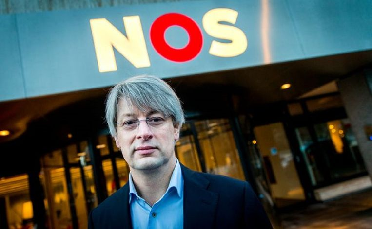 Hoofdredacteur van NOS Nieuws Marcel Gelauff. Beeld ANP