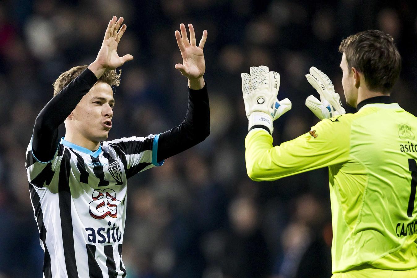 Dario van den Buijs (l).