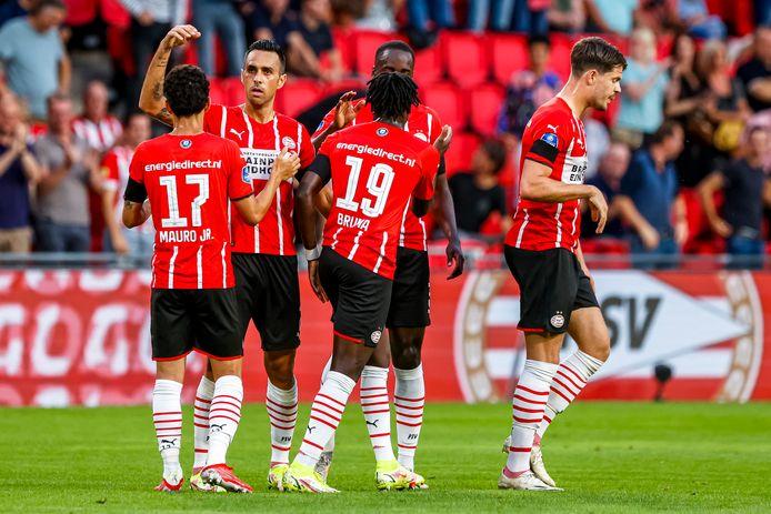 PSV won vorige week simpel van Cambuur, maar het duel met Benfica leverde daarna een deceptie op.