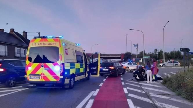 Ongeval met spookrijdende bromfietser aan oprit E40