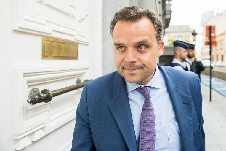 Staatssecretaris voor Fraudebestrijding Philippe De Backer (Open Vld). Beeld Belga