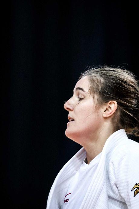 Graafse judoka Guusje Steenhuis verovert zilveren EK-medaille en lijkt zeker van Olympische Spelen