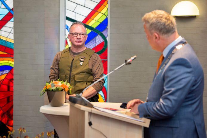 André Stuijts mag zich vanaf vandaag Ridder in de Orde van Oranje-Nassau noemen.