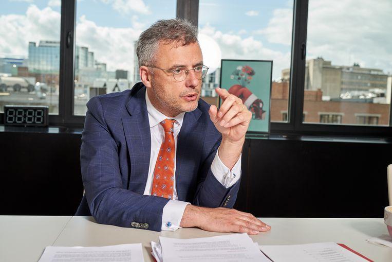CD&V-voorzitter Joachim Coens. Beeld vincent duterne/photo news