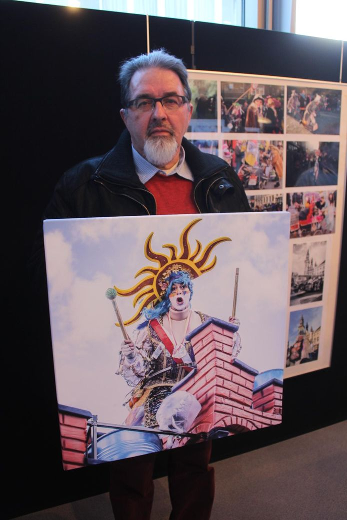 Ronny Fierens maakte de mooiste carnavalsfoto, getiteld 'De Schrieje'.