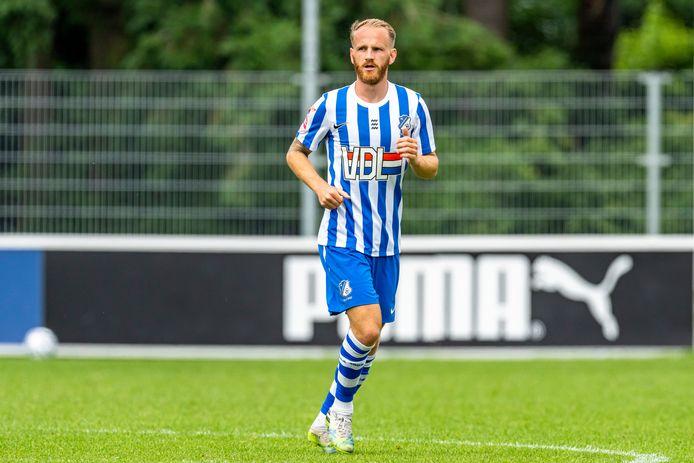 Jason Bourdouxhe hield eerder deze zomer zijn conditie op peil bij FC Eindhoven, de club die zijn contract niet verlengde na afloop van vorig seizoen.