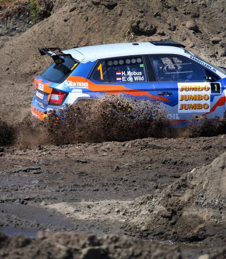 Hermen Kobus nog altijd leider in Achtmaal: Ronald Leemans rolt de GTC Rally uit