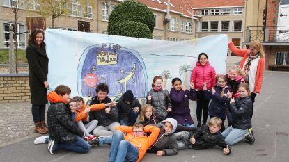 Jonge tekentalenten als vips onthaald tijdens Festival aan Zee