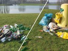 Het Hulsbeek lijkt na twee zonnige dagen op een vuilnisbelt: 'Zelfs de toiletten zijn vernield'