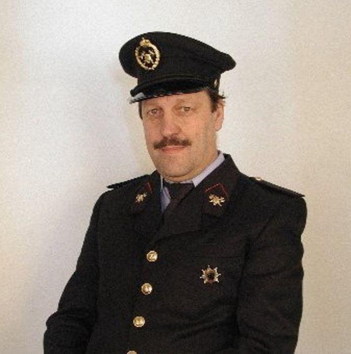 François Van Leemput in zijn eerste jaren bij brandweer zone Lint.