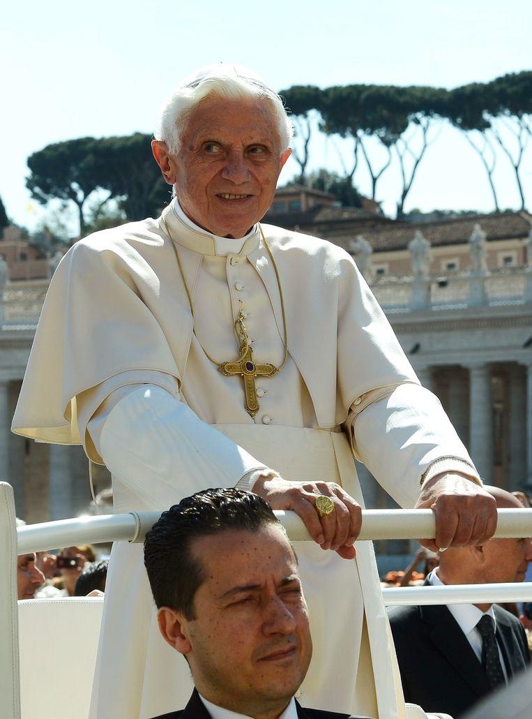 De paus liet de zaak onderzoeken. Beeld AFP