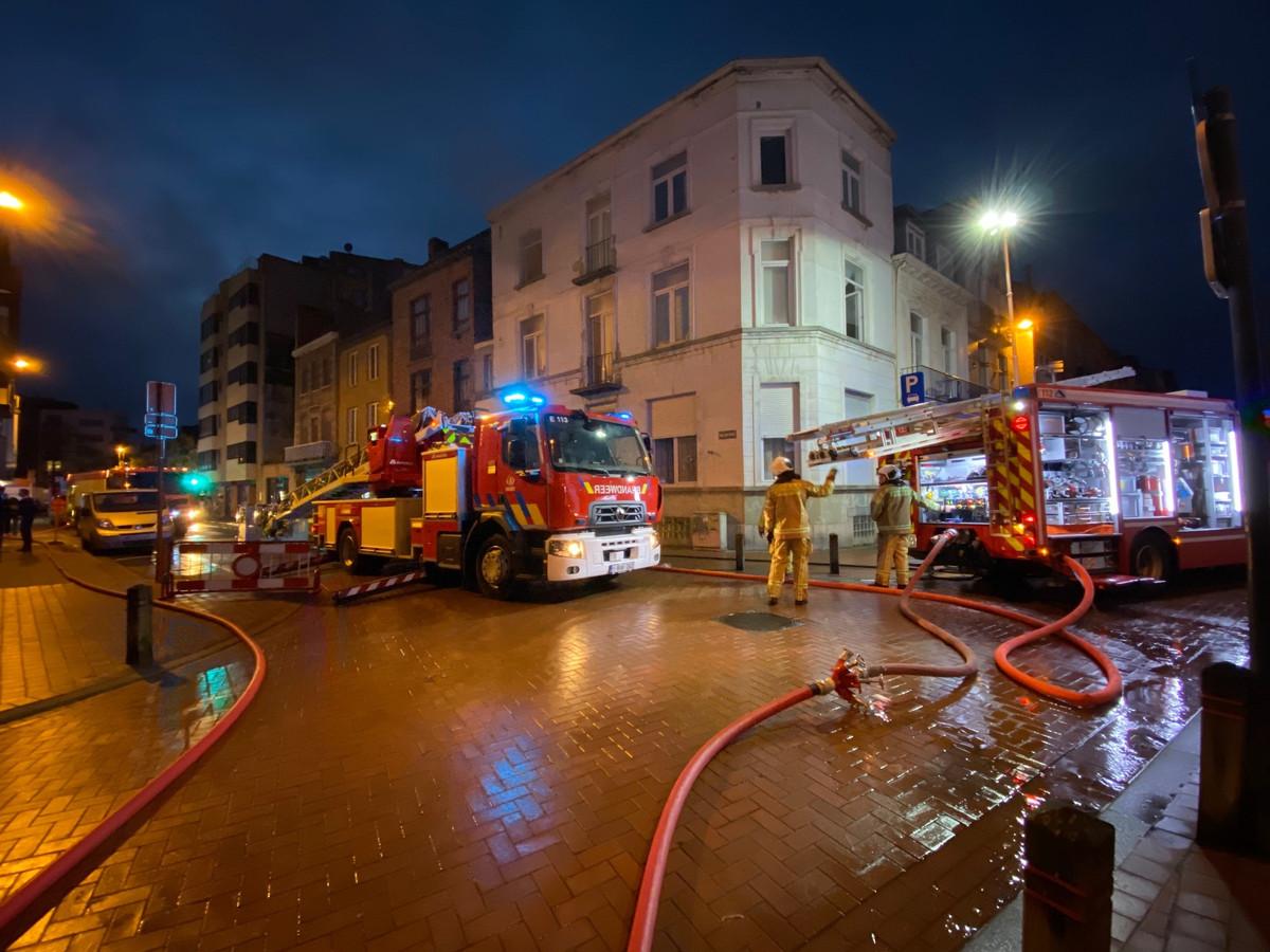Brand Haelenstraat Blankenberge