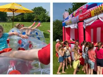 The Big Bounce maakt pretpark van leefschool De Wollewei