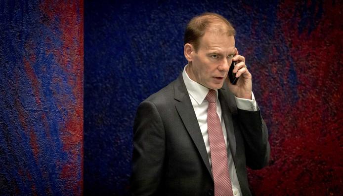 Staatssecretaris Menno Snel van Financiën.