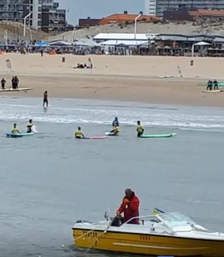 'Verbied staand wantvissen vlak voor de kust'