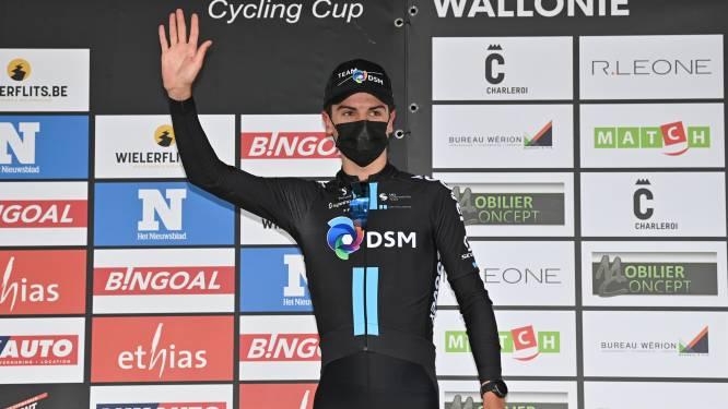 "Henri Vandenabeele voorlopig derde in Baby Giro: ""Leider Ayuso nog straffer dan Pidcock"""