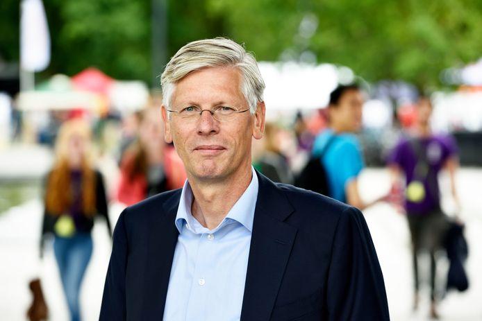 Rector Magnificus Frank Baaijens van de Technische Universiteit Eindhoven