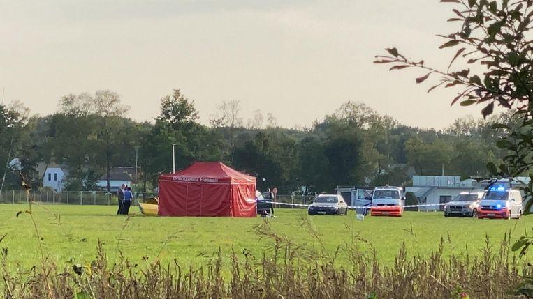 Vliegtuigje crasht in weide aan vliegveld Kiewit, piloot (59) overleden Beeld Marco Mariotti