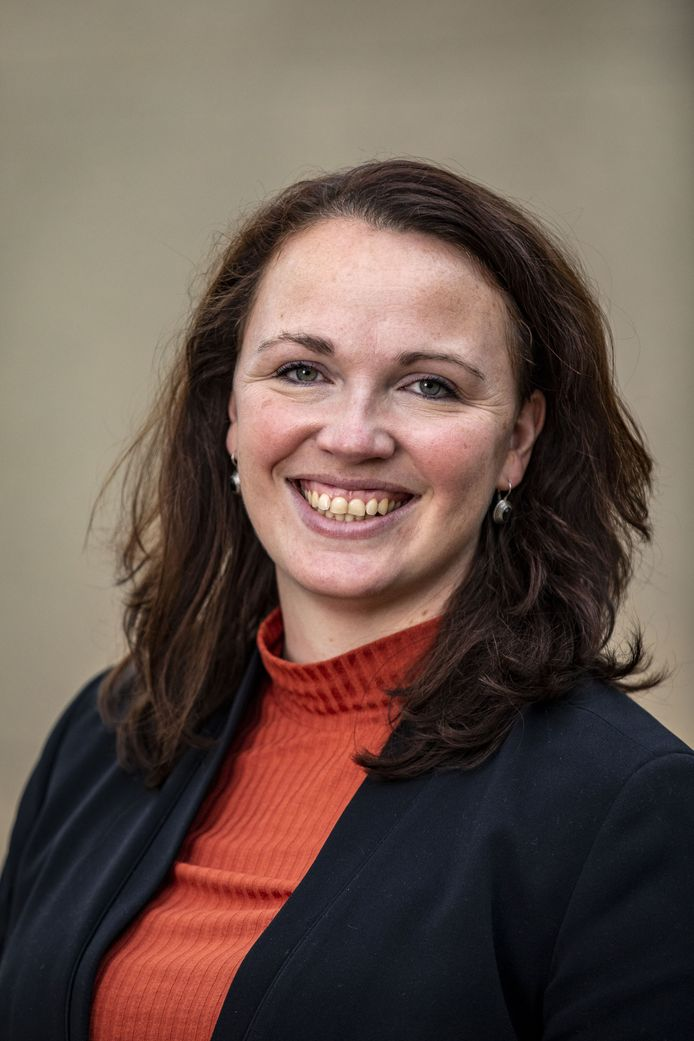 Wethouder Hilde Berning.