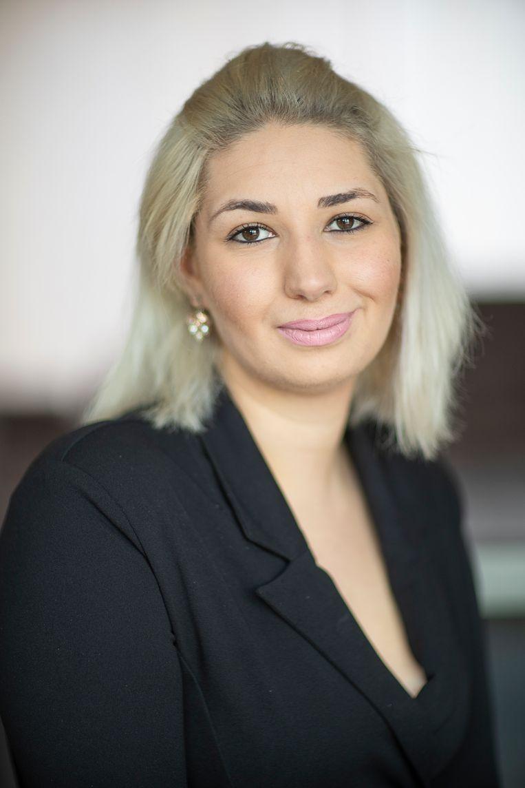 Sozan Abwini: ´Democratie is voor ons een nieuwe ervaring.´ Beeld Harry Cock / de Volkskrant
