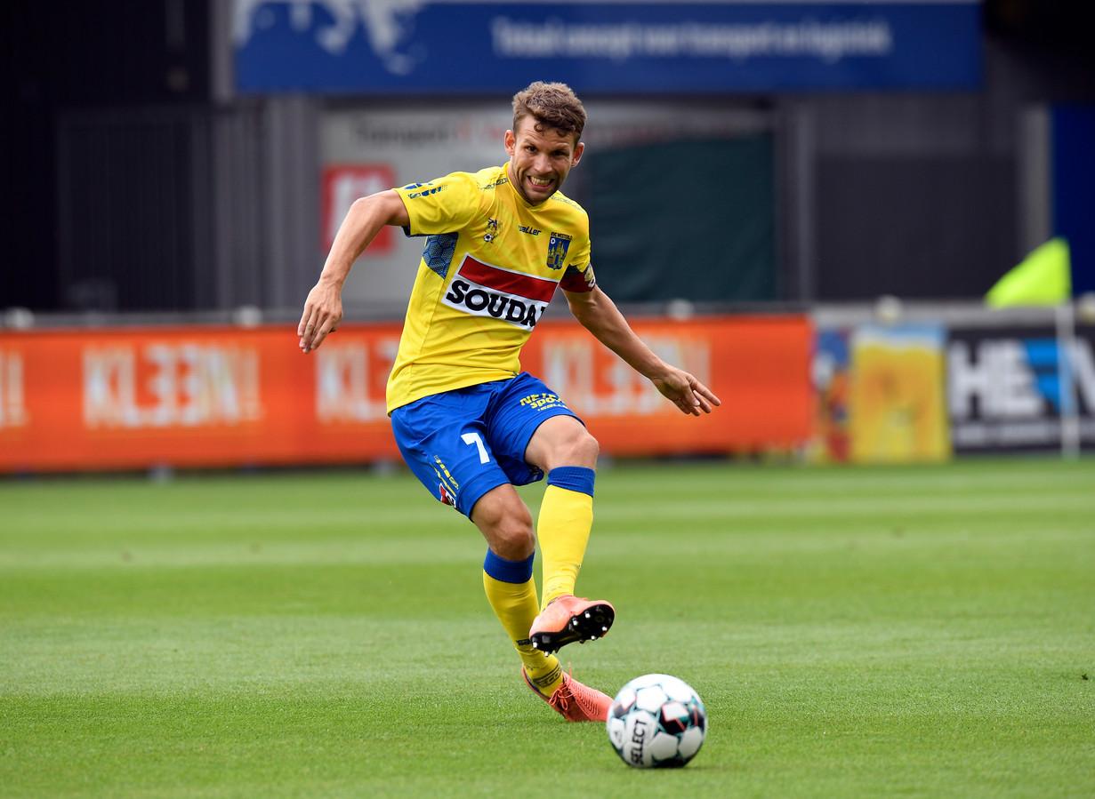 Lukas Van Eenoo zette KVC Westerlo op weg naar de zege bij RFC Seraing.