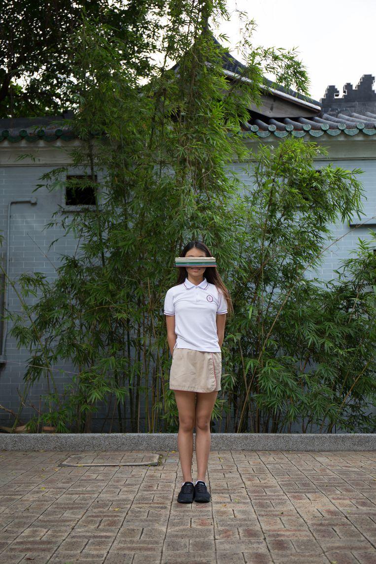 '17-jarigen schreven me hartverscheurende essays over de foto's.' Beeld Saskia Wesseling