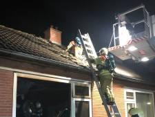 Woning volledig uitgebrand in Meerkerk, wietplantage ontdekt bij buurman