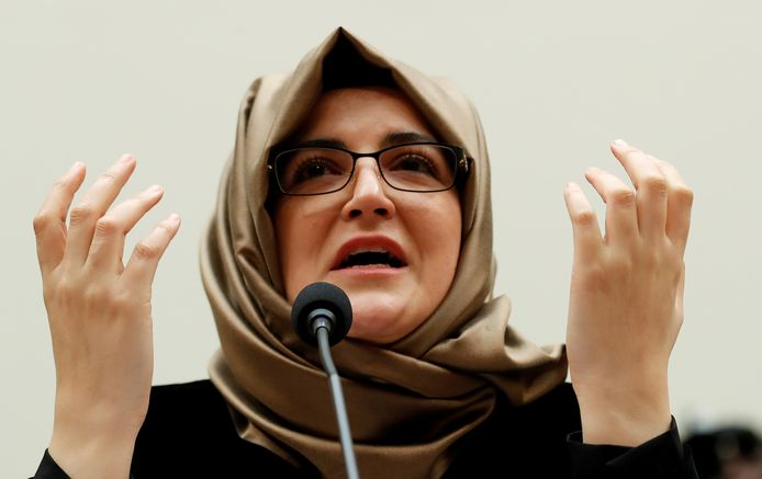 Hatice Cengiz, fiancé du défuntJamal Khashoggi