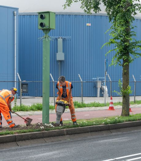 Let op! Nieuwe flitspaal in Harderwijk staat vanaf donderdag aan