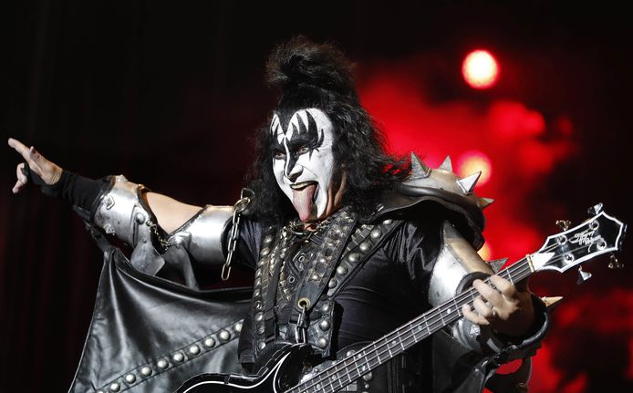 Gene Simmons van Kiss.