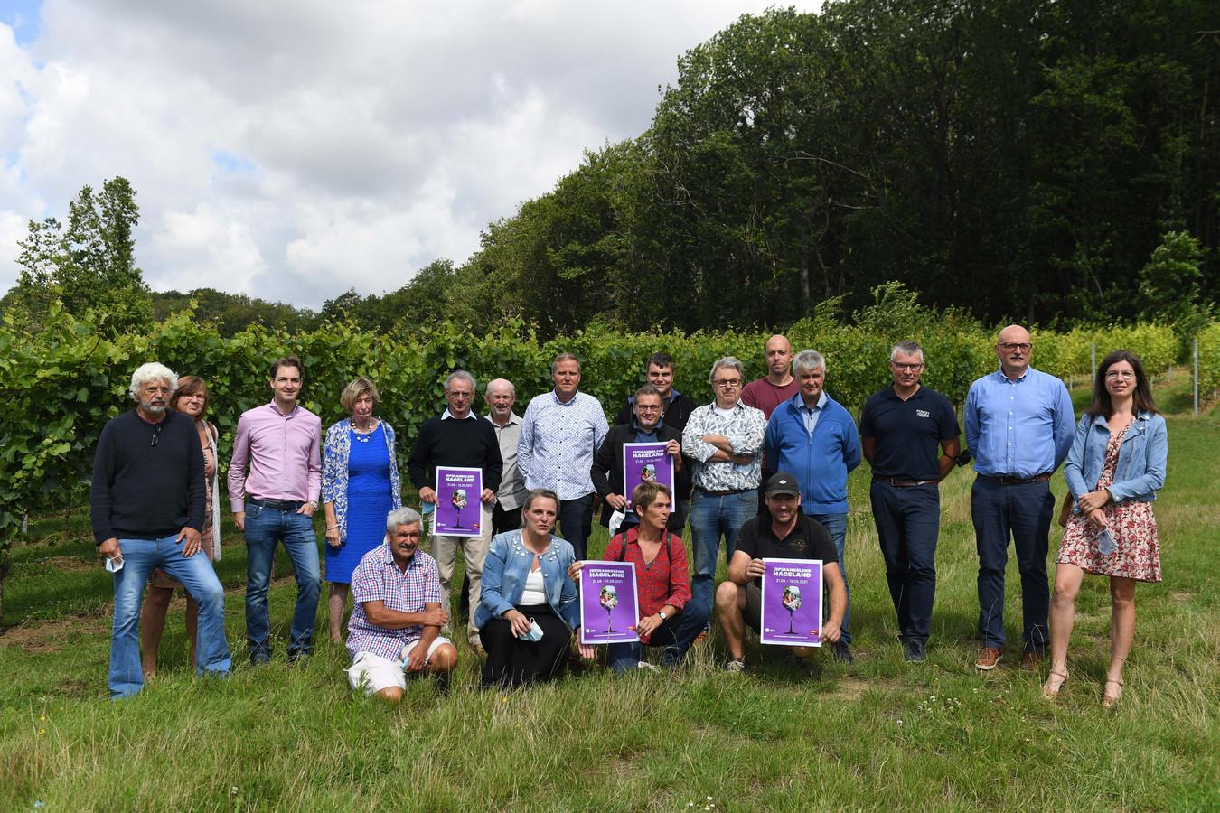 Wijndomein Vandeurzen (de locale wijnbouwers) in Linden.