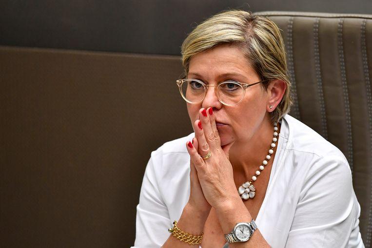 Vlaams Parlementslid Katia Segers (Vooruit). Beeld BELGA