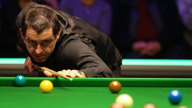 Geen achtste eindzege: John Higgins houdt Ronnie O'Sullivan uit halve finales Masters snooker