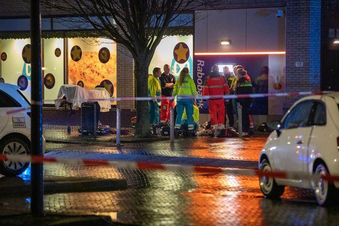 Het steekincident bij de pinautomaat in Hoofddorp