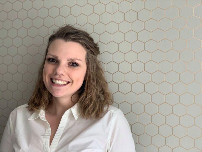 De 24-jarige Axelle Bel uit Vilvoorde.