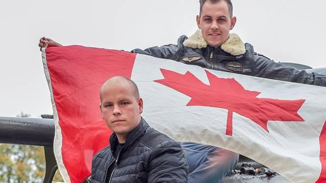 Weer actie met Canadese vlaggen: 'Slag om Woensdrecht levend houden'