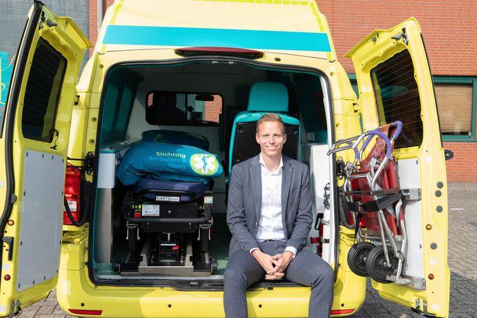 Kees Veldboer jr. (34) wordt de nieuwe directeur van Stichting Ambulance Wens.
