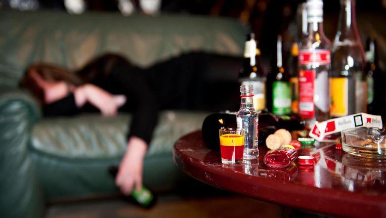 Valt de kater van vijf dagen feest zwaar? Beeld anp