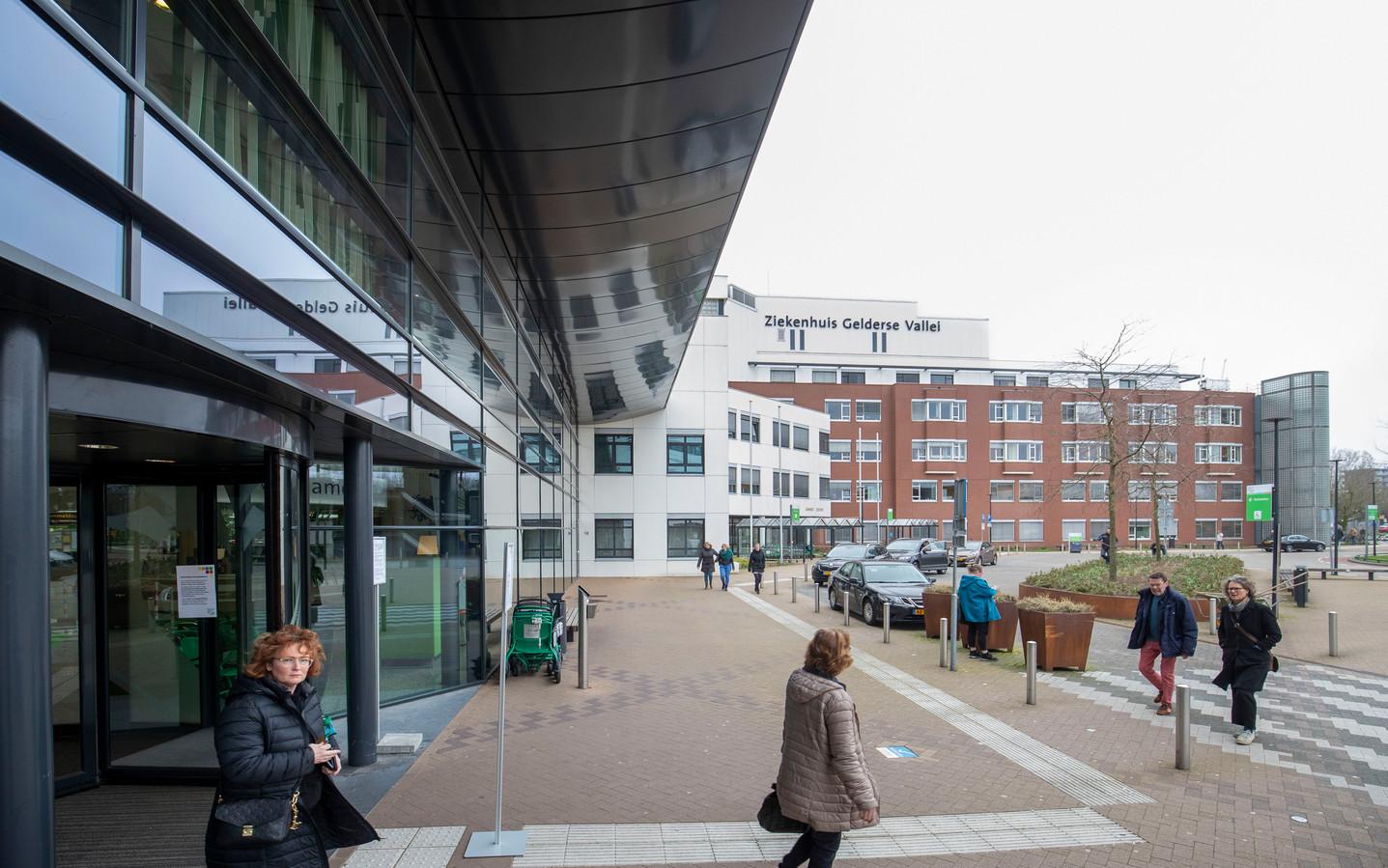 Entree Ziekenhuis Gelderse Vallei.