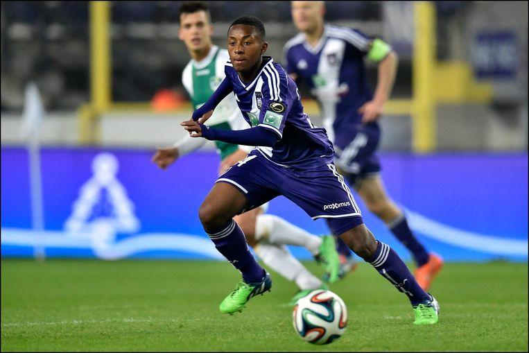Samuel Bastien, hier nog aan de slag bij Anderlecht.