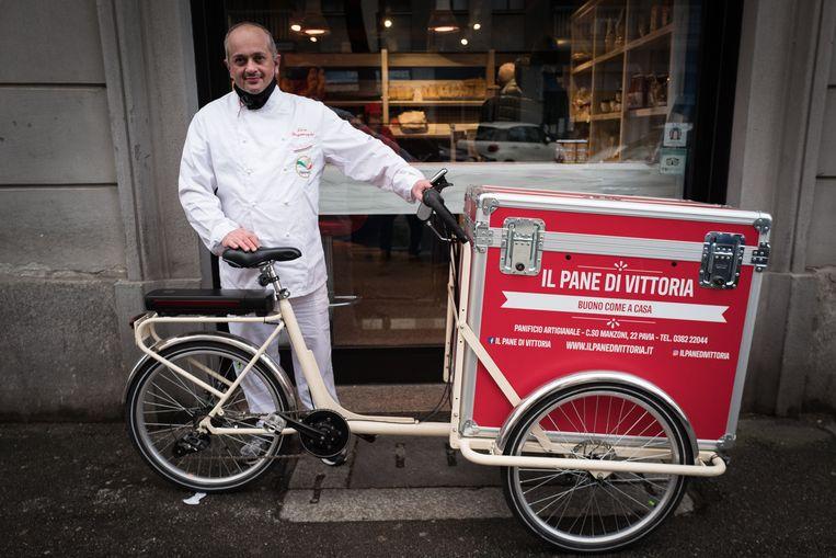 Luca Bergamaschi:  'De fiets is het thema van de toekomst.' Beeld Nicola Zolin
