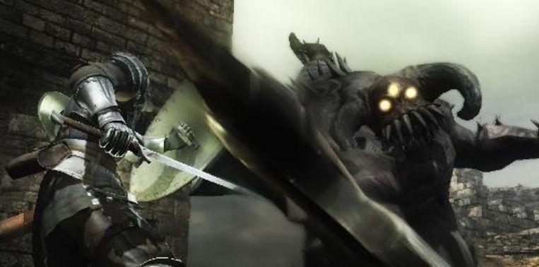 Mijn koninkrijk voor een groter zwaard. Beeld