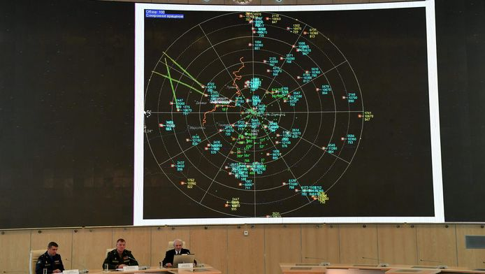 Uit data van de Russen zou blijken dat de raket die vlucht MH17 raakte, niet door pro-Russische rebellen is afgevuurd.