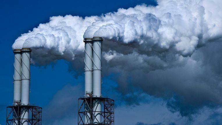 Energiecentrale EON op de Maasvlakte. Beeld anp