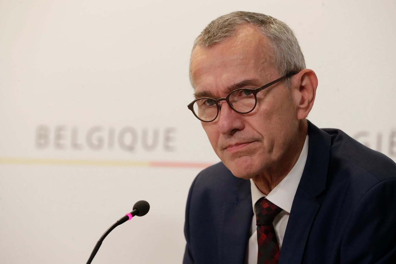 Frank Vandenbroucke, ministre fédéral de la Santé.