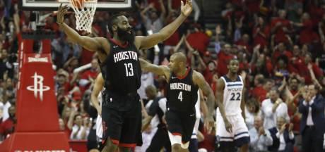 Rockets door in play-offs, LeBron James held van Cavaliers