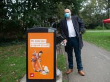 """Kleurrijke vuilnisbakken moeten zwerfvuil voorkomen: """"Wie goed bezig is, krijgt een groene vuilnisbak"""""""