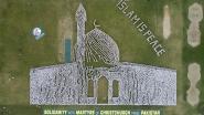 Duizenden Pakistanen beelden samen moskee in Christchurch uit als eerbetoon aan slachtoffers